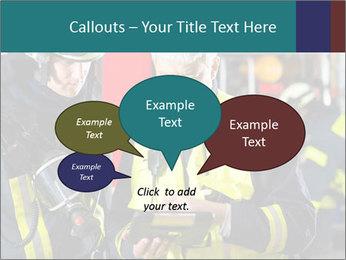 Fire brigade PowerPoint Template - Slide 73