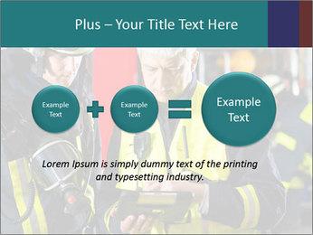 Fire brigade PowerPoint Template - Slide 75