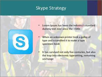 Fire brigade PowerPoint Template - Slide 8