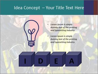 Fire brigade PowerPoint Template - Slide 80