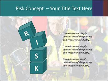 Fire brigade PowerPoint Template - Slide 81