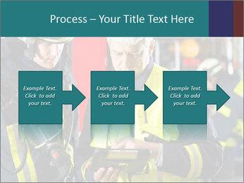 Fire brigade PowerPoint Template - Slide 88