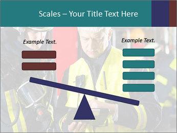 Fire brigade PowerPoint Template - Slide 89