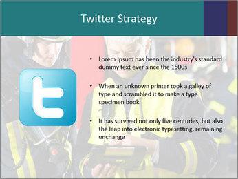Fire brigade PowerPoint Template - Slide 9