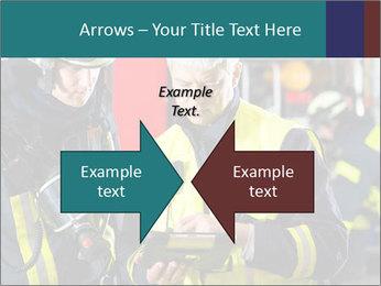 Fire brigade PowerPoint Template - Slide 90