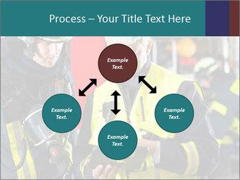 Fire brigade PowerPoint Template - Slide 91
