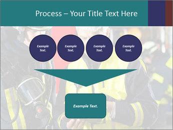 Fire brigade PowerPoint Template - Slide 93