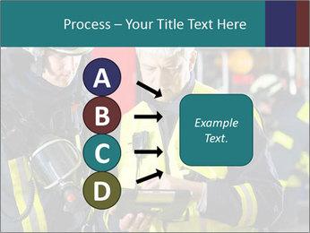 Fire brigade PowerPoint Template - Slide 94