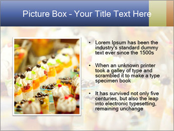 Cream and fruit dessert PowerPoint Templates - Slide 13