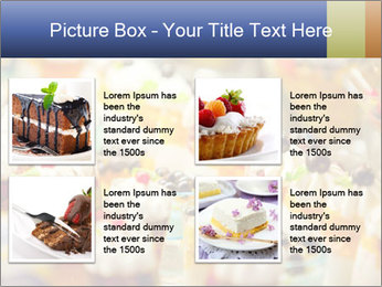 Cream and fruit dessert PowerPoint Templates - Slide 14