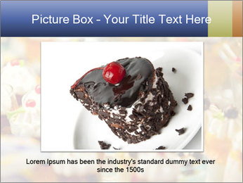 Cream and fruit dessert PowerPoint Templates - Slide 15