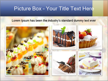 Cream and fruit dessert PowerPoint Templates - Slide 19