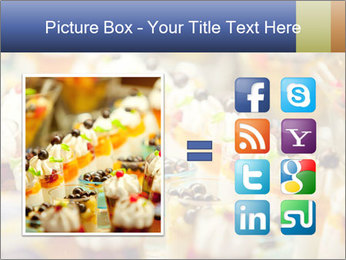 Cream and fruit dessert PowerPoint Templates - Slide 21
