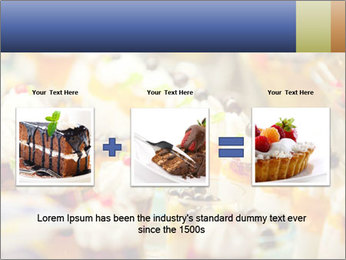 Cream and fruit dessert PowerPoint Templates - Slide 22