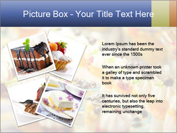 Cream and fruit dessert PowerPoint Templates - Slide 23