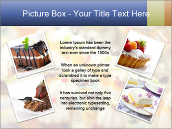 Cream and fruit dessert PowerPoint Templates - Slide 24