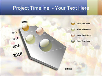 Cream and fruit dessert PowerPoint Templates - Slide 26