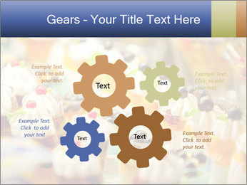 Cream and fruit dessert PowerPoint Templates - Slide 47