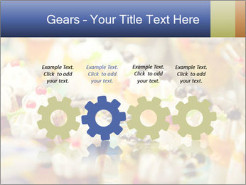 Cream and fruit dessert PowerPoint Templates - Slide 48
