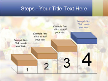 Cream and fruit dessert PowerPoint Templates - Slide 64