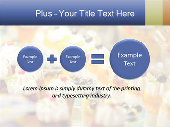 Cream and fruit dessert PowerPoint Templates - Slide 75