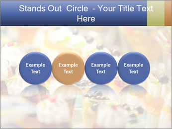 Cream and fruit dessert PowerPoint Templates - Slide 76