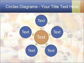 Cream and fruit dessert PowerPoint Templates - Slide 78