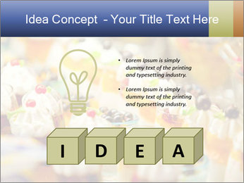 Cream and fruit dessert PowerPoint Templates - Slide 80