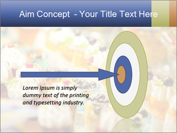 Cream and fruit dessert PowerPoint Templates - Slide 83
