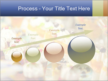 Cream and fruit dessert PowerPoint Templates - Slide 87