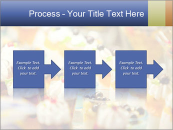 Cream and fruit dessert PowerPoint Templates - Slide 88