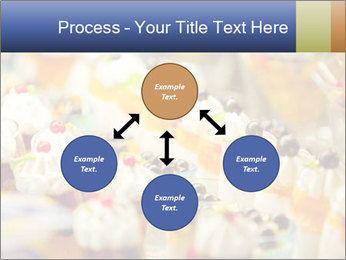 Cream and fruit dessert PowerPoint Templates - Slide 91
