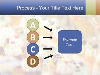 Cream and fruit dessert PowerPoint Templates - Slide 94