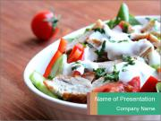 Turkey salad PowerPoint Templates