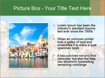 Colorful island of Procida PowerPoint Template - Slide 13