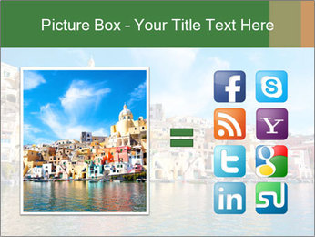Colorful island of Procida PowerPoint Template - Slide 21