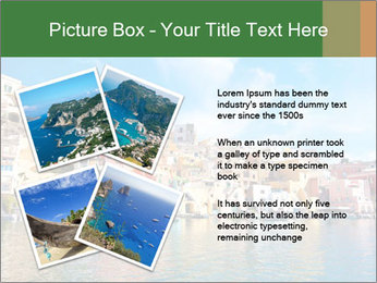 Colorful island of Procida PowerPoint Template - Slide 23