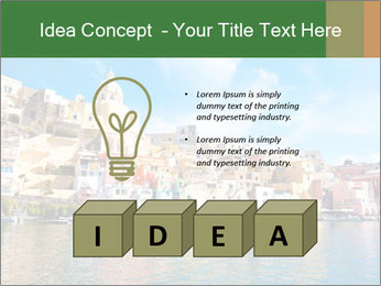 Colorful island of Procida PowerPoint Template - Slide 80