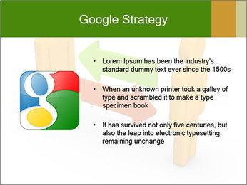 Exchange between two 3d men PowerPoint Templates - Slide 10