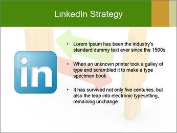 Exchange between two 3d men PowerPoint Templates - Slide 12