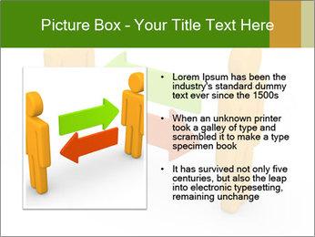 Exchange between two 3d men PowerPoint Templates - Slide 13