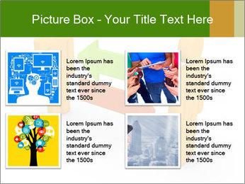 Exchange between two 3d men PowerPoint Templates - Slide 14
