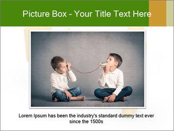 Exchange between two 3d men PowerPoint Templates - Slide 16