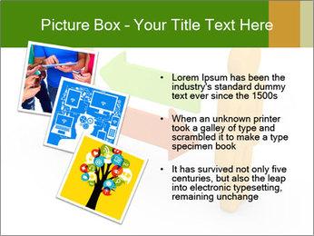 Exchange between two 3d men PowerPoint Templates - Slide 17