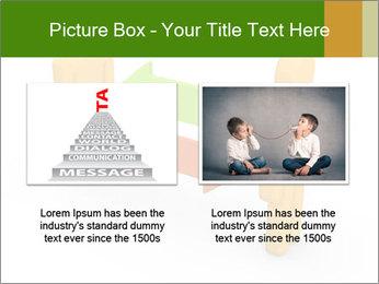 Exchange between two 3d men PowerPoint Templates - Slide 18
