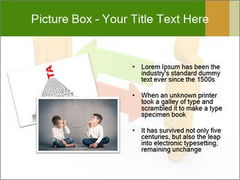 Exchange between two 3d men PowerPoint Templates - Slide 20