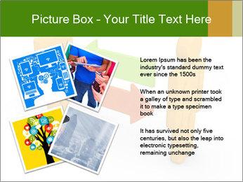 Exchange between two 3d men PowerPoint Templates - Slide 23