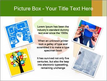 Exchange between two 3d men PowerPoint Templates - Slide 24