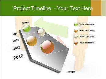 Exchange between two 3d men PowerPoint Templates - Slide 26