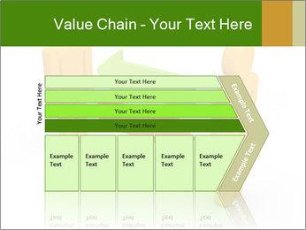 Exchange between two 3d men PowerPoint Templates - Slide 27